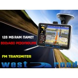 GPS НАВИГАЦИЯ WEST ROAD SL-5 HD EU